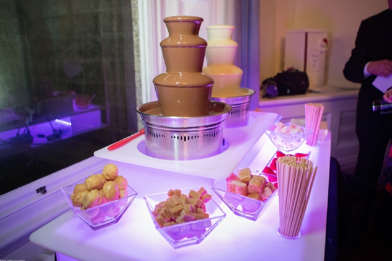 Cornwall Marquee Hire Chocolate Fountains