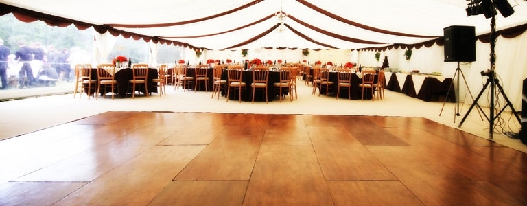 Cornwall Marquee Hire Dancefloors