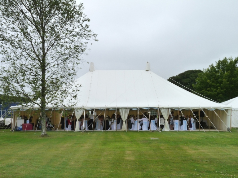 Cornwall Marquee Hire Joan & Roy Turner