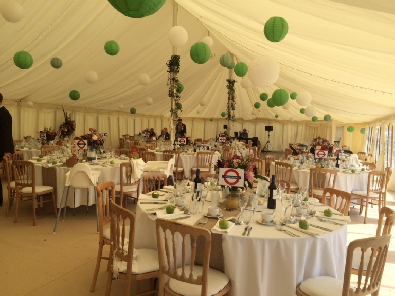 Cornwall Marquee Hire Stephen and Carolyn