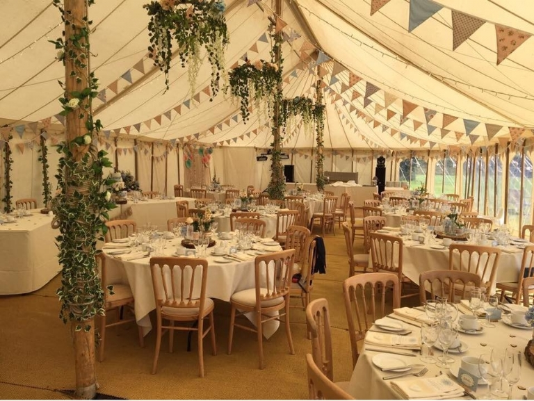 Cornwall Marquee Hire Gemma and Jacob