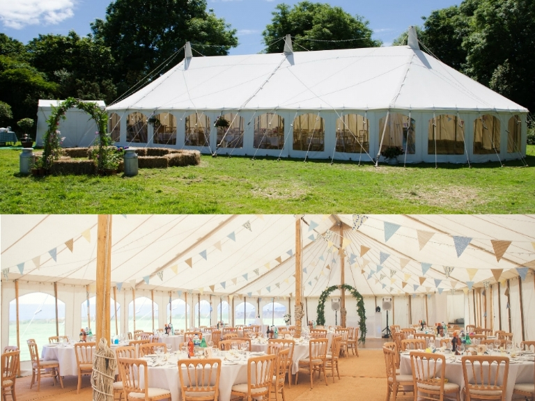 Cornwall Marquee Hire Package Offer Two 2019/20