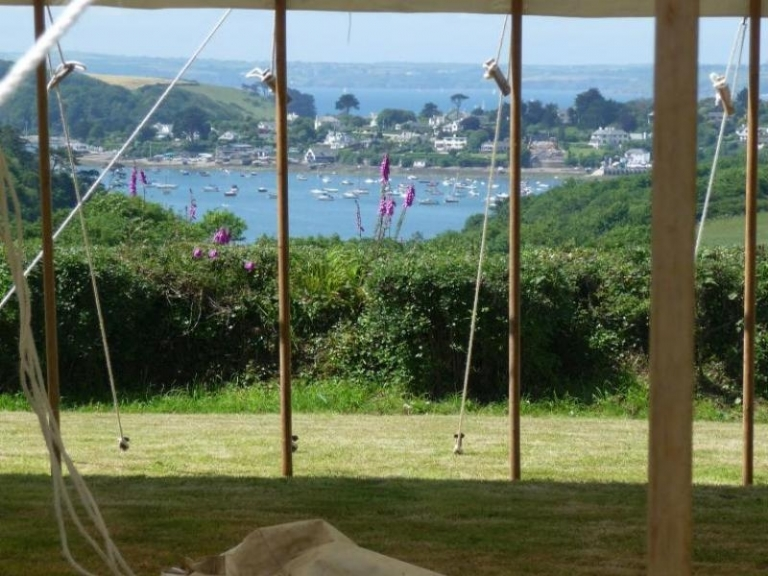 Have your Absolute Canvas wedding marquee at Tregassick House in Cornwall.
