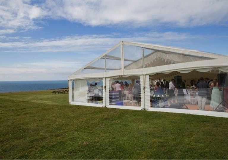Have your Absolute Canvas wedding marquee at Bre-Pen Farm in Cornwall.