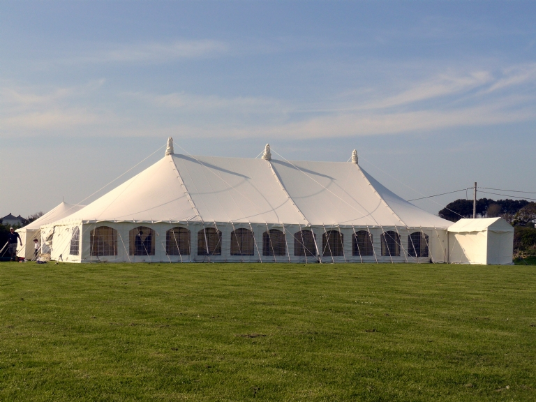 Cornwall Marquee Hire traditional marquees