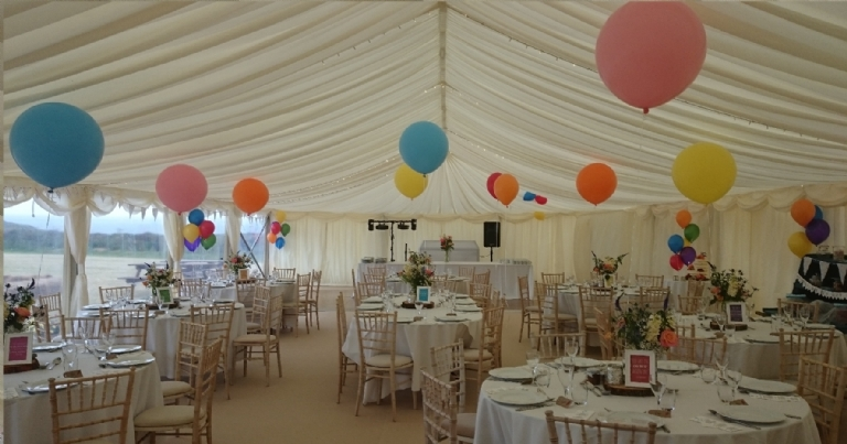 Cornwall Marquee Hire Sarah and Craig